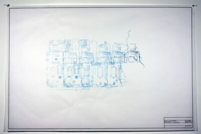 Maggie Gourlay, 'Architectural Plan IIA', 2012
