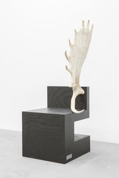 Rick Owens, 'Stag Chair Black Plywood (Right)', 2007