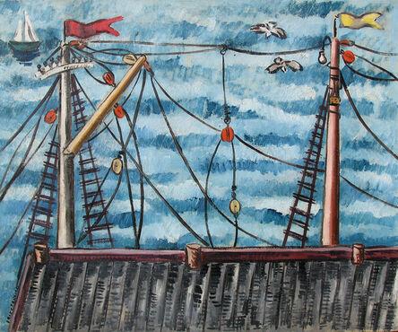 Irene Rice Pereira, 'Masts', ca. 1934-35