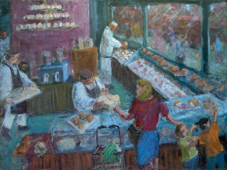 Simon Carr, 'The Provincial Lady At The Bakery', 2018-2019
