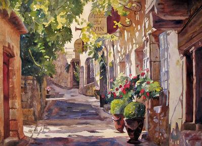 Jann Pollard, 'Afternoon Walk in St. Cirq Lapopie', 2011