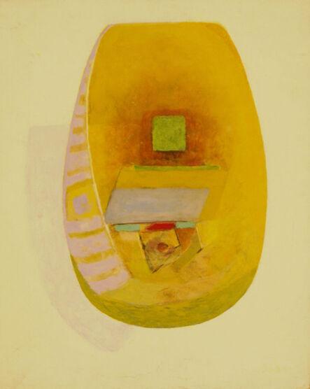 Naum Gabo, 'Untitled (Oval form)', 1969