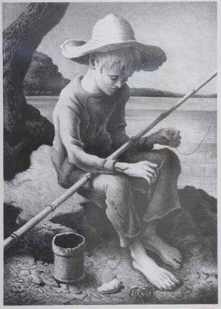 Thomas Hart Benton, 'The Little Fisherman', 1967