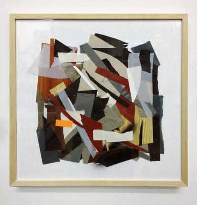 Clemens Behr, 'Hingelegte Collage', 2013