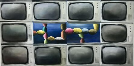 Andreas Schulze (b. 1955), 'untitled (TV)', 1984