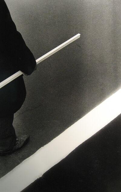 Ralph Gibson, 'Man, Stick White Stripe', 1972