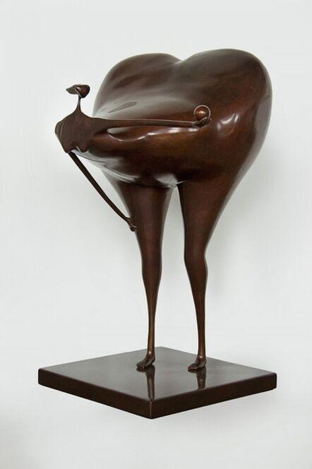 Abigail Varela, 'Mujer con bola II', 1997