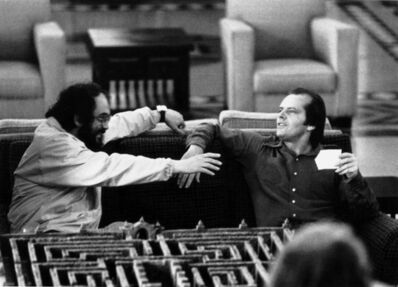 Unknown Artist, 'Stanley Kubrick and Jack Nicholson on the set of The Shining', 1978-1980