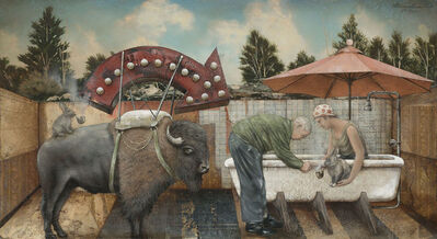 Tyson Grumm, 'Pointing the Finger at Naughty Hare ', 2011