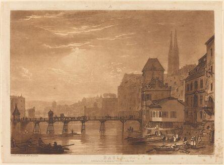 J. M. W. Turner, 'Basle', published 1807