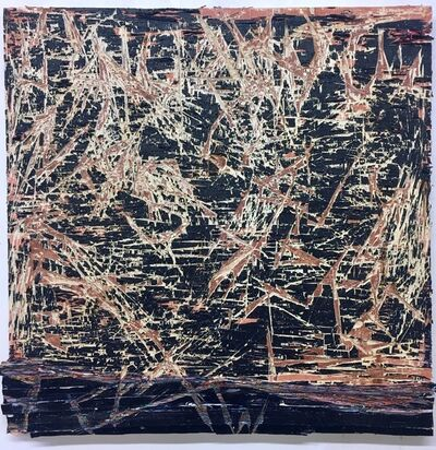 Jacin Giordano, 'cut painting 81', 2017