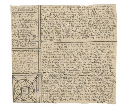 Robert Walser, 'Manuscript 215, October–November', 1928