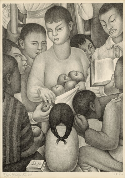 Diego Rivera, 'The Fruits of Labor', 1932