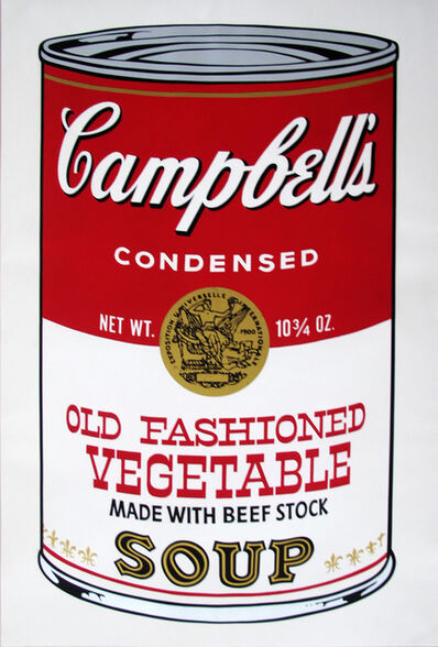 Andy Warhol, 'Campbell's Soup II: Old Fashioned Vegetable (FS II.54)', 1969