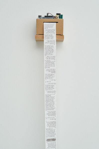 Nolan Oswald Dennis, 'biko.cabral (time/place)', 2020