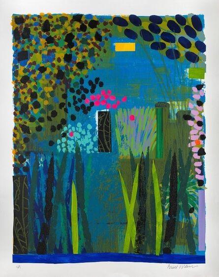 Bruce McLean, 'Garden Blue', 2012