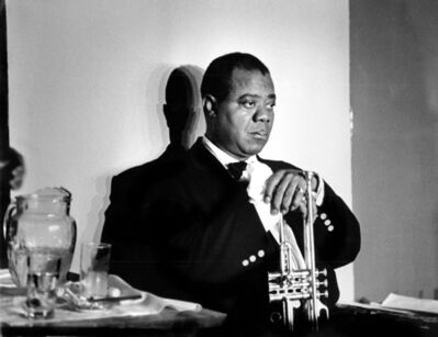 Herman Leonard, 'Louis Armstrong, Paris', 1960