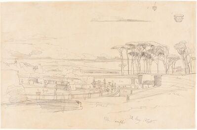 Edward Lear, 'Villa Pamphili', 1840