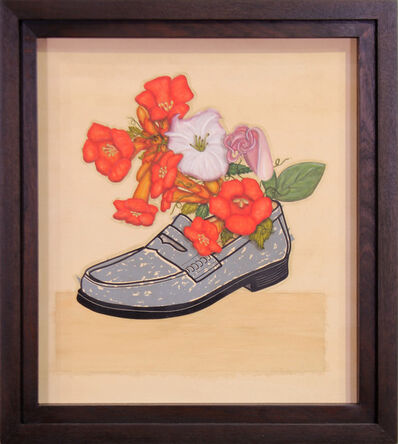 Vicente Telles, 'Trumpet Flowers & Loafer (with Issac Telles)', 2020