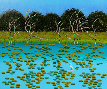 Peter Coad, 'Lillypads - Byron Bay Series', 2020