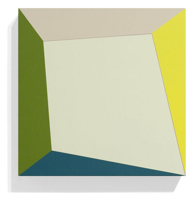 Ronald Davis, 'Un-Square Twist', 2009