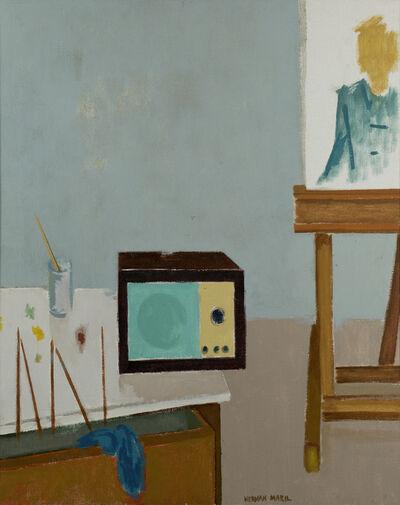 Herman Maril, 'Music in Studio', 1985