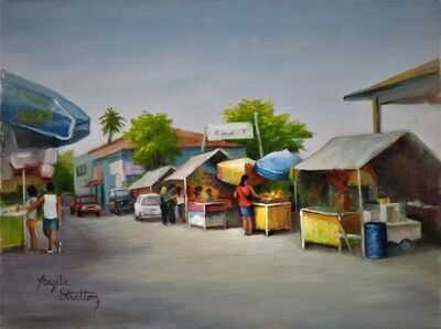 Angela Stratton, 'Market Place', 2012