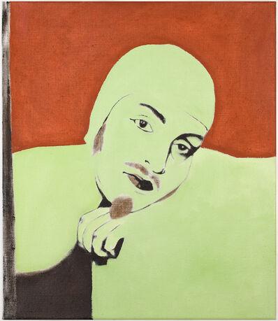 René Luckhardt, 'Untitled nude with bathing cap', 2014
