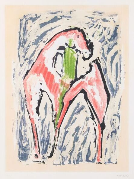 Marino Marini, 'Cavallo', 1979