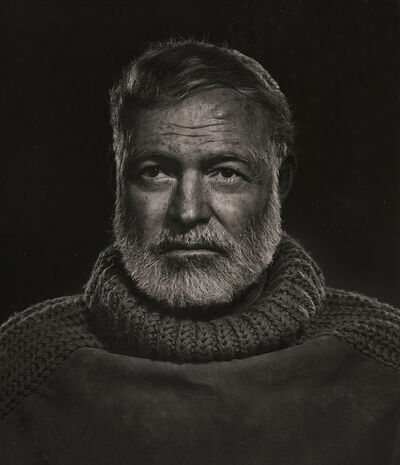 Yousuf Karsh, 'Ernest Hemingway in Turtle Neck Sweater', 1957/1980c