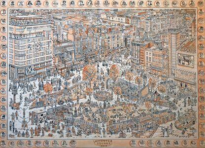 Adam Dant, 'Leicester Square', 2019