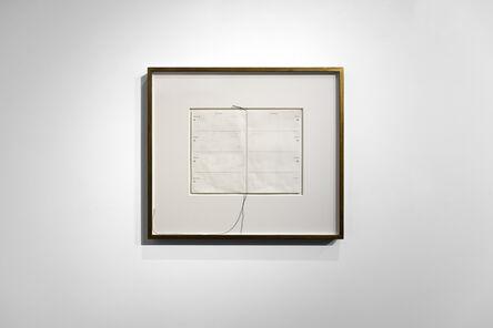Susan Morris, 'Erased Diary', 2021