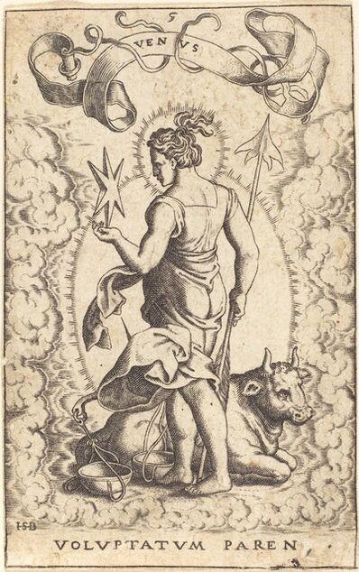 Sebald Beham, 'Venus'