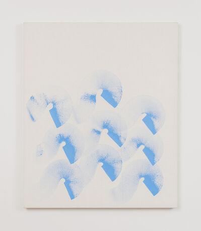 Elvire Bonduelle, 'Untitled [Rotating Wave Painting]', 2019