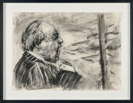 William Kentridge, 'Drawing for Other Faces (Soho Shouting)', 2011