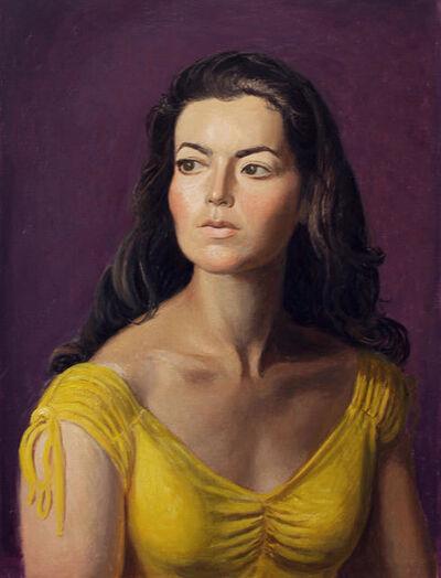 Jansson Stegner, 'Kate in Yellow', 2018