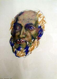 Sudhir Patwardhan, 'Untitled (Bearded Man)', 1983