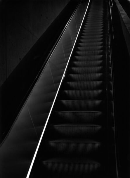 Arnold Kastenbaum, '9/11 Museum Escalator'