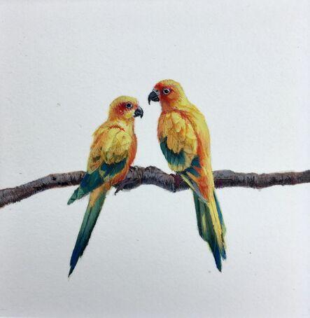 Dina Brodsky, 'Parrots', 2018