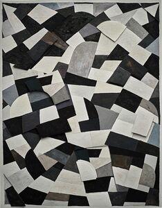 Vik Muniz, 'Surfaces: Black and White, after Otto Freundlich', 2020