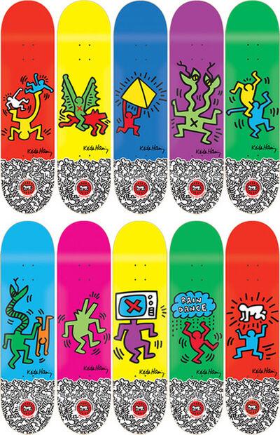 Keith Haring, 'Set of 10', 2012