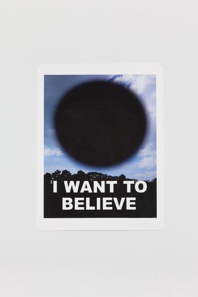 Heman Chong, 'I WANT TO BELIEVE', 2016