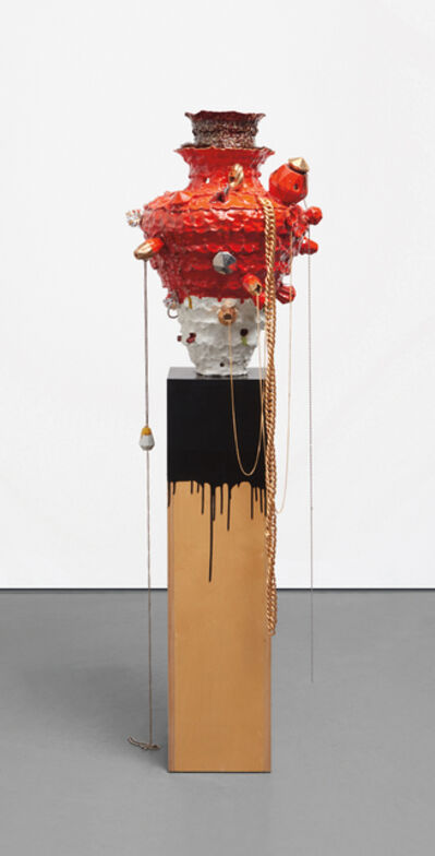 Nicole Cherubini, 'Gem-Pot, Red; Vanitas #1', 2005
