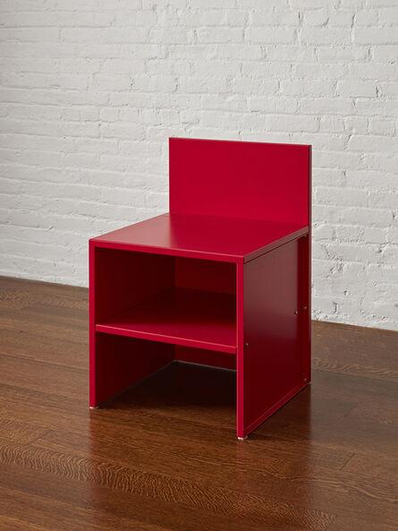 Donald Judd, 'Chair #45', 2016