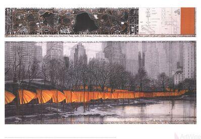 Christo, 'The Gates XXVII', 2005