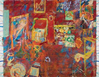 Jochen Plogsties, '33_18 (L'atelier rouge)', 2018