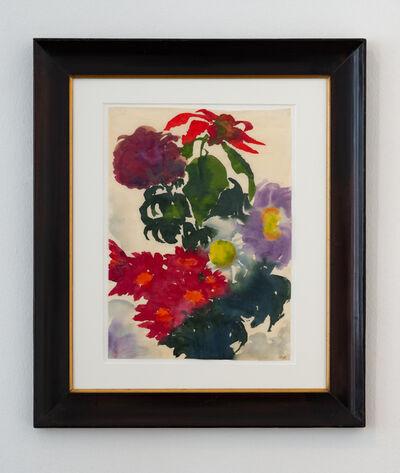 Emil Nolde, 'Flower still-life', unkwon