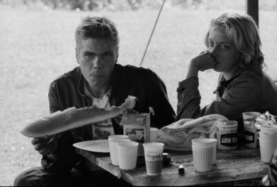 Danny Lyon, 'Ronnie and Cheri, La Porte, Indiana, The Bikeriders Portfolio', 1966