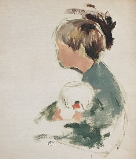 Margery Austen Ryerson, 'Boy with a Goldfish Bowl', ca. 1925
