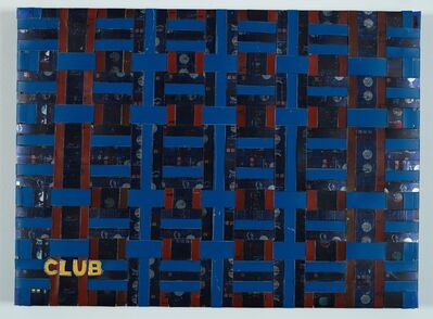Adel Abdessemed, ' Cocorico painting, Club', 2017-2020